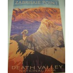 Death Valley National Park Wooden Poster