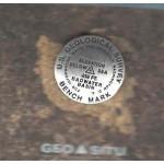 The Orginal Bench Mark Medallion - Badwater Basin Pin