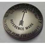 Bench Mark Magnet - Telescope Peak