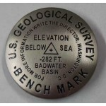 Bench Mark Magnet - Badwater Basin