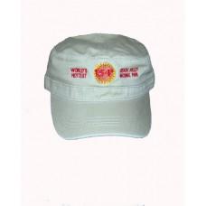 134°  Military Hat, Khaki Color