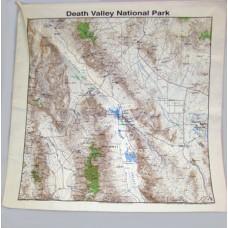 Death Valley TOPO Bandana