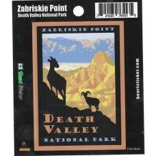 Zabriskie Point/Death Valley National Park Sticker