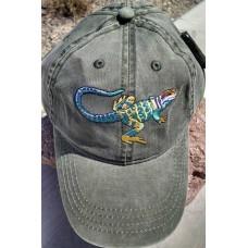 Collared Lizard Hat