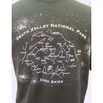 Death Valley National Park Dark Skys T-Shirt - Glow in the Dark
