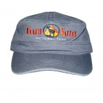 Zabriskie Point Military Hat, Color Charcoal