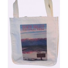 Cotton Guesseted Tote Bag - Badwater Basin