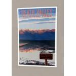 Badwater Postcard