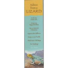 Advice from a Lizard