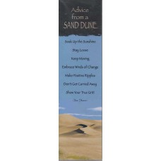 Advice from a Sand Dune Bookmark