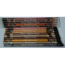 Mojave Desert Wildlife - 9 Assorted Pencils