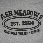 Ash Meadows Established 1984 T-Shirt