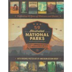 59 Illustrated National Parks Poster Book