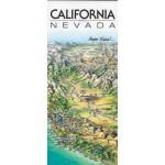California and Nevada Map