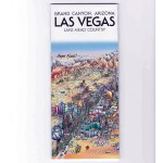 Las Vegas Map [folded]