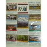 Find Your Park 2017 Passport Stamp Series