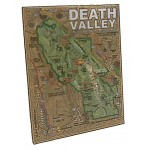 Death Valley Map Magnet