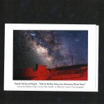 North Cross & Star Vega over 20 Mule Wagon Notecard