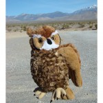 Great Horned Owl Cuddlekin 12""