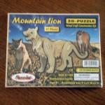 Mountain Lion 3D Puzzle