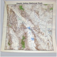 Death Valley TOPO Bandana