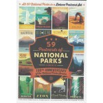 59 Postcards of the National Parks Service
