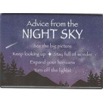 Advice from a Night Sky Magnet