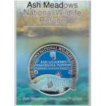 Ash Meadows Pupfish Walking Stick Medallion