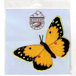 Orange Sulphur Butterfly Mobile