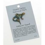 Collared Lizard Pin
